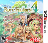 Rune Factory 4 USA cover