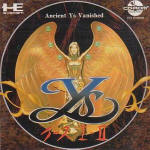 Ys Book I & II - PC Engine CD JAP Cover