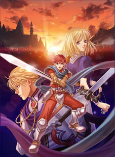 Ys III: The Oath in Felghana Art