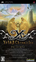 Ys I & II Chronicles PSP Cover