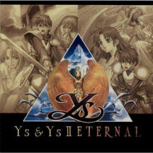 Ys I & II Eternal Complete Cover Обложка